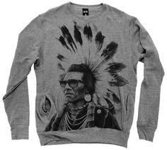 ROOK Men's Chief Rocka Crew « Clothing Impulse