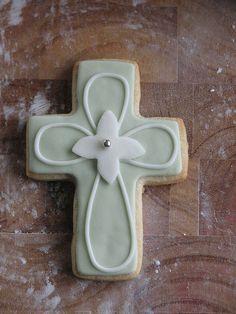 baptism cookie favor