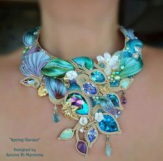 Нежные украшения от мастера Serena Di Mercione Shared by biserok.org on Google+