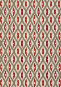 RAJAH, Linen, W73363, Collection Nomad from Thibaut