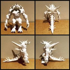 Completed 3D print of Diablo from Diablo 3 (Blizzard). I was so impressed with the level of detail that I was able to get on this character.  If you like this print follow us for more cool creations!  #gosu #3D #3Dprint #3dprinter #3dprinting #blizzard #blizzcon #blizzcon2015 #gamer #diablo #diablo3 #design #digital #developer #engineer #enemy #hero #hobby #superglue #printrbot #filament #white #progamer #cartoon #model #scale #loot #playstation #xbox360 #pc by gosu3dprinting