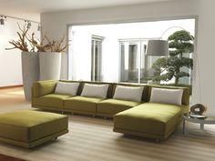 Canapé modulable / lit / contemporain / en tissu DENNIS by Guido Rosati Milano Bedding Sofa Set Designs, Sofa Design, Modular Sofa Bed, Modular Furniture, Sofa Furniture, Furniture Design, Sofa Bed With Chaise, Sofa Couch Bed, Minimalist Sofa