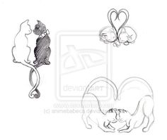 Cat Tattoos by *Andlynne on deviantART