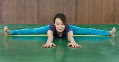 Thank you for your service, Marie Kondo. Meet Eiko. In her new book, a mega-seller in Japan, this yoga teacher says even the stiffest people can do the splits.