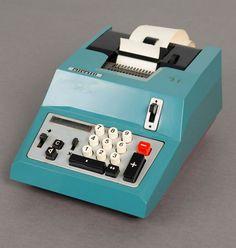 Marcello Nizzoli; 'Summa Quanta 20 R' Calculator for Olivetti, 1961.