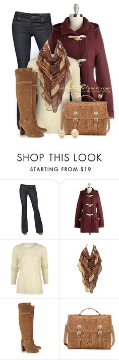 """Toggle Coat & Suede Boots"" by casuality ❤ liked on Polyvore featuring J Brand, Woolrich, Trilogy, MICHAEL Michael Kors and Tiffany & Co."