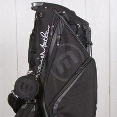Travis Mathew Black Stand Bags