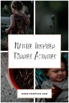 Nature Inspired Toddler Activities | PNW Pixie
