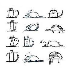 small cat tattoo - Google Search