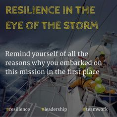 The 30 Best Resilience In The Eye Of Storm Leadership