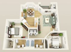 Vietri 2 Bed / 2 Bath 995 Sq. Ft. From $801 - $1,023