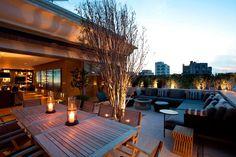 lounge no terraço