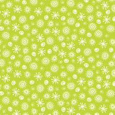 Atomic Robot (Green) fabric by robyriker on Spoonflower - custom fabric