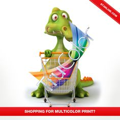 Are you shopping for the perfect imprint method for your multicolor logo? #TruColor is the perfect imprint for you.