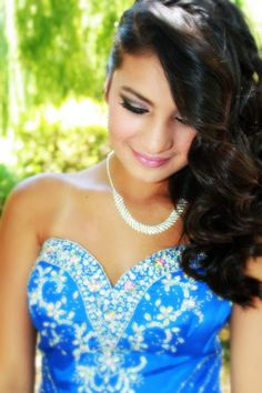 quince hair and makeup | Quinceanera, makeup and photo by me