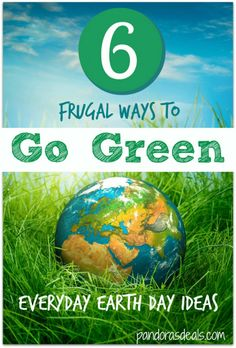 Frugal Ways to Go Green