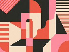 Great work from a designer in the Dribbble community; your best resource to discover and connect with designers worldwide. Abstract Geometric Art, Abstract Shapes, Abstract Pattern, Geometric Shapes, Abstract Illustration, Building Illustration, Graphic Design Illustration, Geometric Pattern Design, Geometric Designs