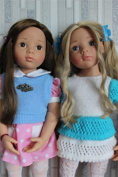 Моя коллекция. Куклы Gotz / Куклы Gotz - коллекционные и игровые Готц / Бэйбики. Куклы фото. Одежда для кукол