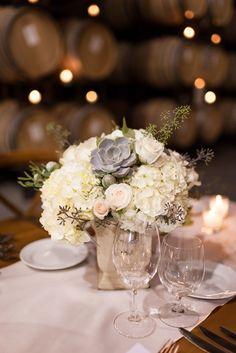 Photography: Megan Clouse - www.meganclouse.com/ Read More: http://www.stylemepretty.com/2014/10/10/romantic-healdsburg-wedding-in-a-barrell-room/