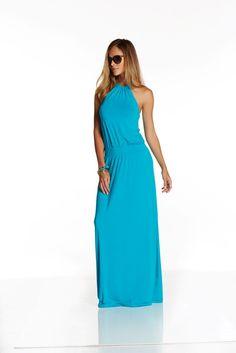 Lana Maxi - Capri Breeze - AED850 from Hunni Online www.hunnionline.com/shop/Clothing/Dresses/All-Dresses/Lana-Maxi-Capri-Breeze/