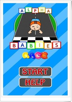 ALPHA BABIES RACE (Juego de ordenación alfabética) Apps, Language, Racing, Baby, Fictional Characters, Alphabetical Order, Learning, Consciousness, Teaching Resources