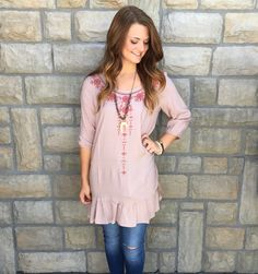 Embroidered items our some of our favorite pieces!!// Taupe Embroidered Tunic $24|| Beljoy Lenora $52|| Beljoy Bracelets $12-14    Comment below with PayPal to purchase and ship or comment for 24 hour hold  #repurposeboutique#loverepurpose#hipandtrendy#shoprepurpose#boutiquelove#falltransition#style#trendy#fall#backtoschool#embroidered#lovebeljoy