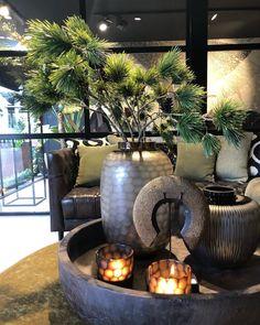 PIN / Jasmijn Annamaria Francisca - Home Dekor Interior Plants, Interior Exterior, Beautiful Interiors, Beautiful Homes, Interior Styling, Interior Decorating, African Home Decor, Interior Concept, Home And Deco