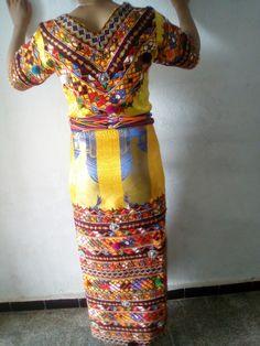 Robe Berbere, Bijoux Kabyle, Robe Kabyle Moderne, Kabyles, Tenue Orientale,  Tenues