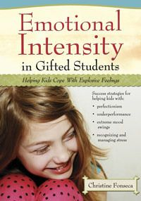 Emotional Intensity in Gifted Students: Helping Kids Cope with Explosive Feelings by Christine Fonseca. This is an easy read geared towards helping parents with emotionally intense gifted children, but also good for teachers to help explain the nature of giftedness and how intensity plays into their personality much of the time.