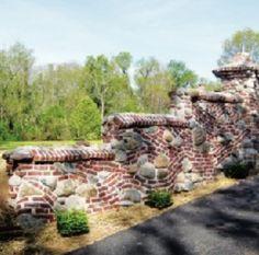 brick and rock work
