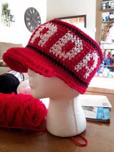 Crochet Canada Visor