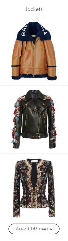 """Jackets"" by jckyleeah ❤ liked on Polyvore featuring cardigan, jacket, coat, bomber, jckyleeah, outerwear, jackets, beige jacket, elie saab and leather jacket"