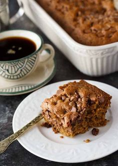 This Mocha Cake recipe is wonderful served with coffee or tea. It's moist and delicious with hints of chocolate and coffee flavours. Sweet Recipes, Cake Recipes, Dessert Recipes, Coffee Dessert, Coffee Cake, Fruit Cocktail Cake, Wacky Cake, Sweet Dumplings, Fudge Pie