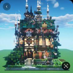 Minecraft Mansion, Minecraft Cottage, Cute Minecraft Houses, Minecraft City, Minecraft Plans, Minecraft Survival, Minecraft Construction, Amazing Minecraft, Minecraft Blueprints