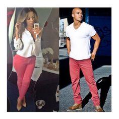super cute couples outfit idea