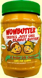 This stuff is the most peanut butter tasting subsititute that I've found...Availalbe at WalMart