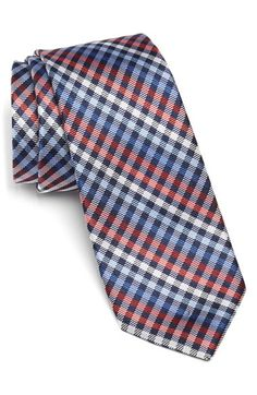 The Tie Bar 'Daydream' Silk Plaid Tie available at #Nordstrom