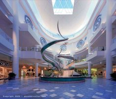 Plaza Las Americas, San Juan Puerto Rico.  The Largest 3 story Shopping Center in the Caribbean  a favorite of mine.