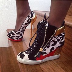 GUISEPPE Zanotti heels and sneakers