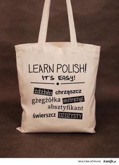 selection of most difficult Polish words. Its easy for me bc Im from poland Learn Polish, Polish Words, Polish People, Polish Christmas, Polish Language, Polish Recipes, At Least, Humor, Learning