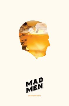 Mad Men (2007–2015) ~ Minimal TV Series Poster by Michael Sapienza #amusementphile