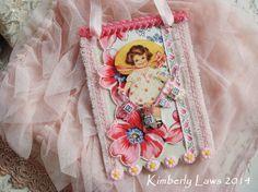NEW FOR 2014 - Valentine tag ornament - No. 635