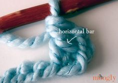 Linked Double Crochet Stitch