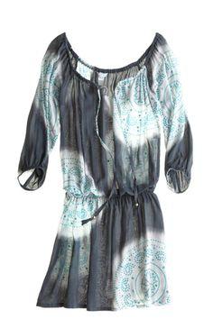 tunic dress- tie dye