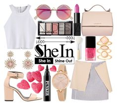 """""""#185 Cami Top-SheIn"""" by mariana15c ❤ liked on Polyvore featuring Miss Selfridge, Givenchy, David Yurman, Le Specs, NARS Cosmetics, Kate Spade, Monsoon, Forever 21, Ardency Inn and Bare Escentuals"""