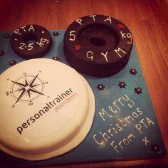 Littlemissimmyloves fitness cake