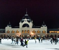 City Park Ice Rink Budapest, Hungary