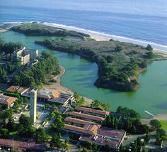 UCSB lagoon (San Nicolas and the UCen)  Lived on the 8th floor of San Nic from 87-89.