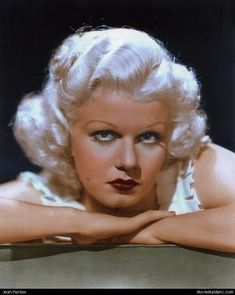 Jean Harlow photographed by Clarence Sinclair Bull for The Girl From Missouri, 1934 (Source: Old Hollywood Stars, Vintage Hollywood, Hollywood Glamour, Hollywood Actresses, Classic Hollywood, Hollywood Hair, Jean Harlow, Classic Movie Stars, Classic Movies
