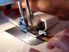 This lady has some amazing serger tips!!!! Serger Pillow Easy and Quick Part 1